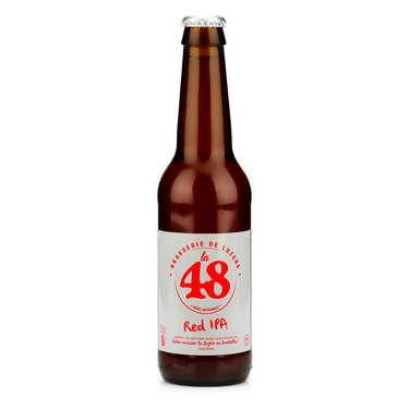 Bière La48 de Lozère - IPA Red 5%
