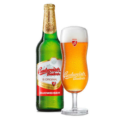 Budweiser Budvar Beer from Czech Republic 5% - Budweiser Budvar