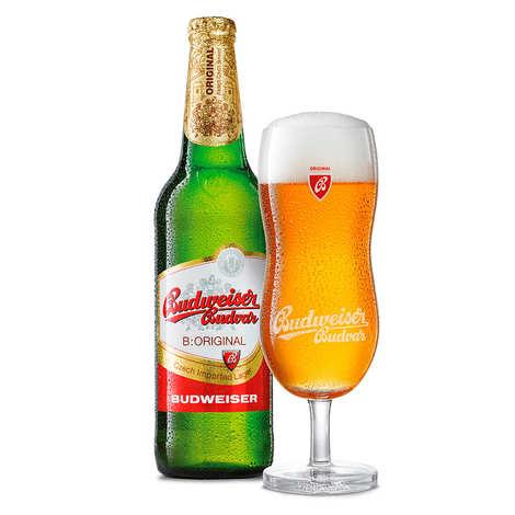 Budweiser Budvar - Budweiser Budvar - Bière Tchèque 5%