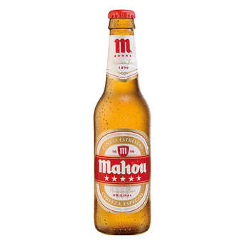 Mahou Cervezas - Mahou Cinco Estrellas Beer from Spain 5.5%