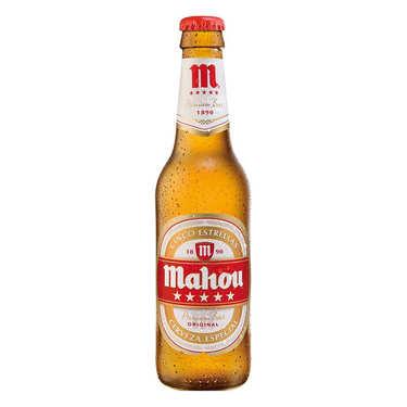 Mahou Cinco Estrellas - Bière blonde espagnole 5.5%
