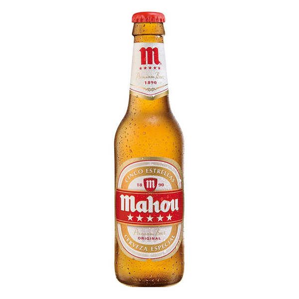 Mahou Cinco Estrellas Beer from Spain 5.5%