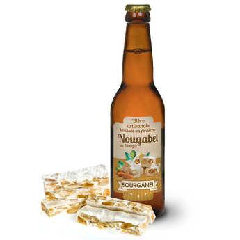 Brasserie Bourganel - Nougabel - Bière au nougat d'Ardèche 5%