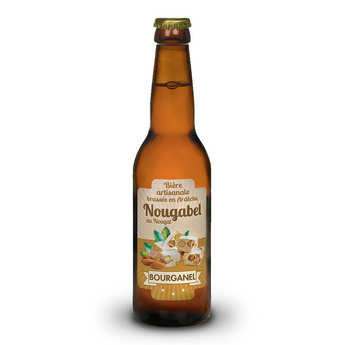 Brasserie Bourganel - Nougabel - Nougat Beer from Ardeche 5%
