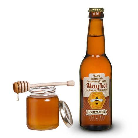Brasserie Bourganel - May'bel - Bière au miel de châtaignier d'Ardèche 5%