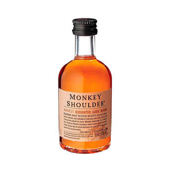 William Grant & Sons - Monkey Shoulder - Mignonnette de whisky 5cl