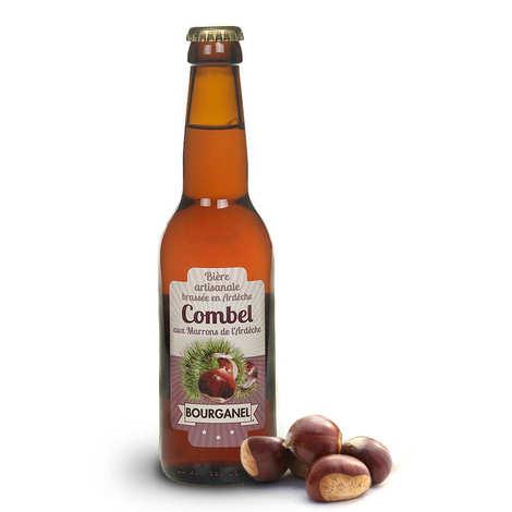Brasserie Bourganel - Combel - Bière aux marrons d'Ardèche 5%