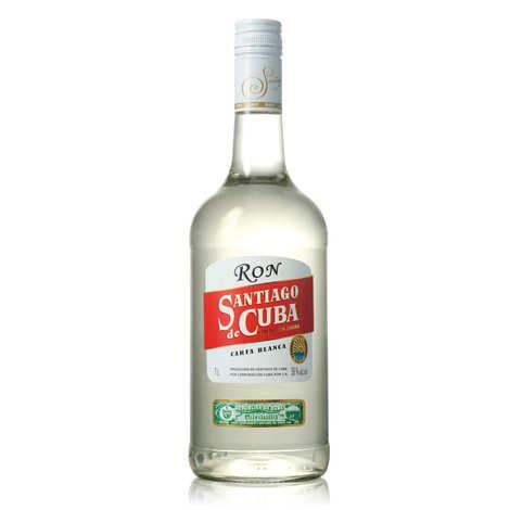 Santiago de Cuba - Rhum Carta blanca - Santiago de Cuba 38%