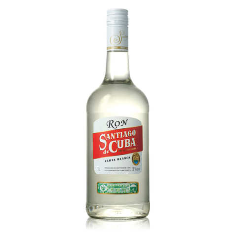 Santiago de Cuba - Rum Carta Blanca- Santiago de Cuba 38%