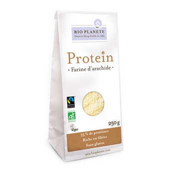 BioPlanète - Organic, Gluten Free and Vegan Peanut Flour