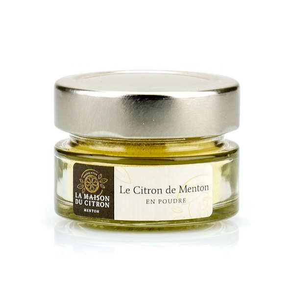 Poudre de citron de Menton IGP