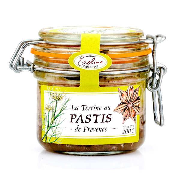 Terrine de porc au pastis de Provence