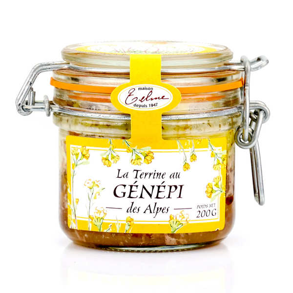 Pork Terrine with Génépi from the Alpes