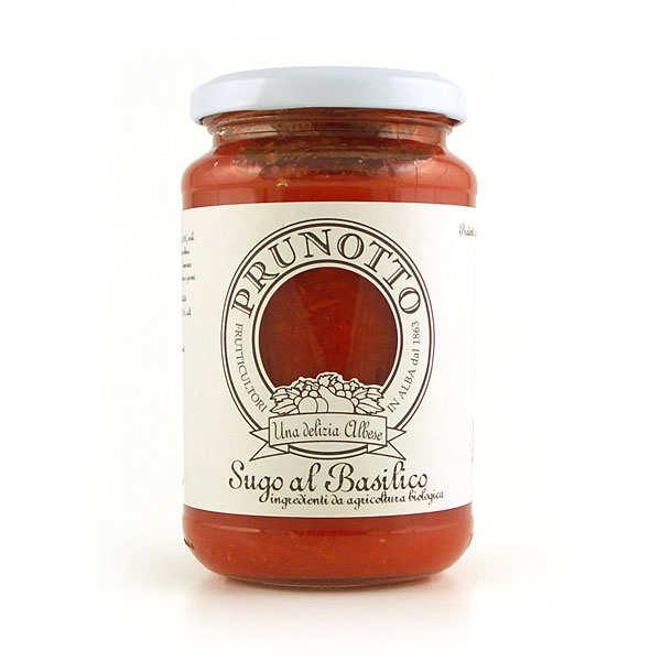 Organic Basil pasta sauce (Sugo al Basilico)