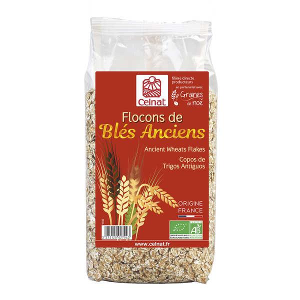 Organic Old Wheat Flakes