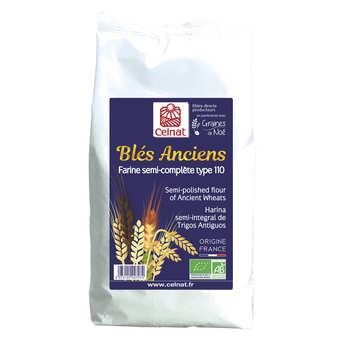 Celnat - Farine semi-complète de blé ancien bio type 110