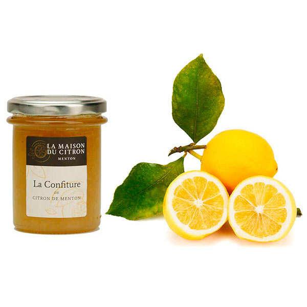 Assortiment citrons de Menton et leur confiture