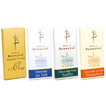 Abbaye Notre Dame de Bonneval - Abbey of Bonneval chocolate bars discovery offer