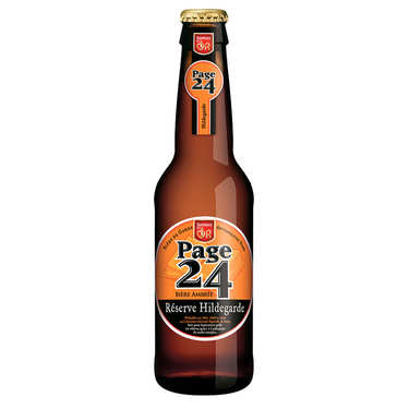 Page 24 Réserve Hildegarde bière ambrée 6.9%