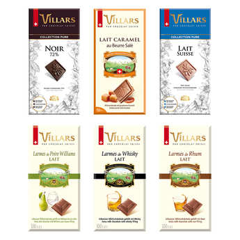 Villars maître chocolatier - Villars Chocolate Bars Discovery Offer