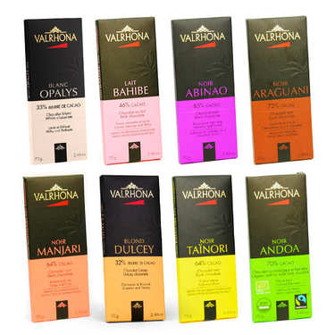 Valrhona Chocolate Bars Discovery Offer
