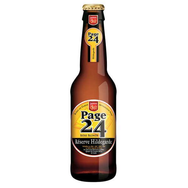 Page 24 Réserve Hildegarde bière blonde 6.9%
