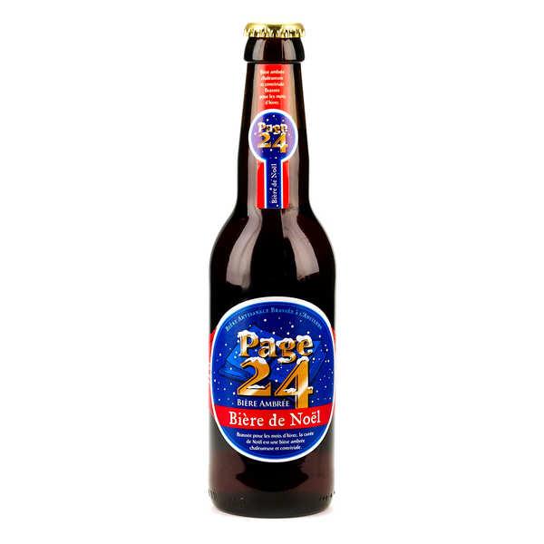 Page 24 bière de Noël ambrée 6.9%