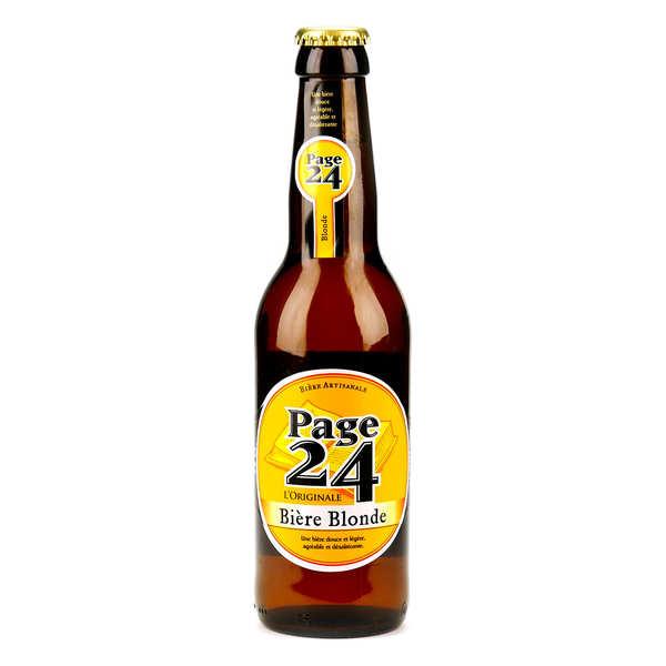 Page 24 bière blonde du Nord 5.9%