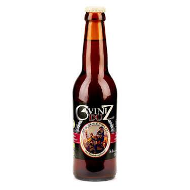 Gwiniz Du - Bière Bretonne Bio de blé noir 5.4%