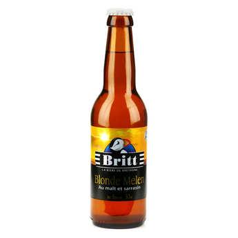 Brasserie Britt - Britt Blonde Melen - Bière Bretonne au malt et sarrasin 6%