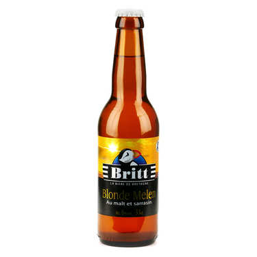 Britt Blonde Melen - Bière Bretonne au malt et sarrasin 6%