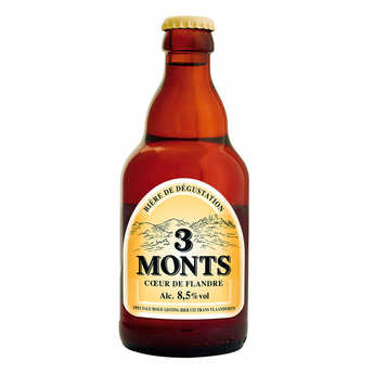 Brasserie St. Sylvestre - 3 Monts - Beer from France - 8.5%