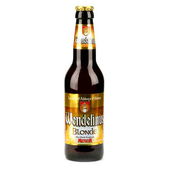 Brasserie Meteor - Wendelinus Blonde - Bière d'Abbaye d'Alsace 6.8%