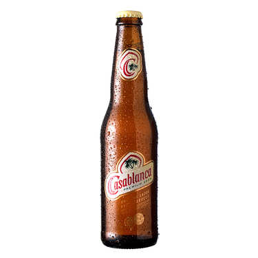 Casablanca Premium Beer from Morocco 5%
