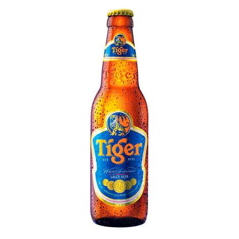 Asia Pacific Breweries - Tiger Asian Lager - Bière de Singapour 5%