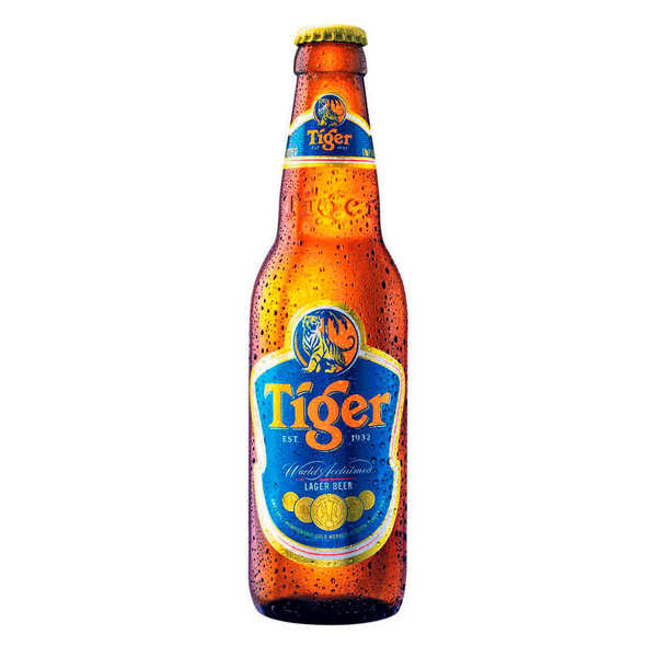 Tiger Asian Lager - Beer from Singapore 5%