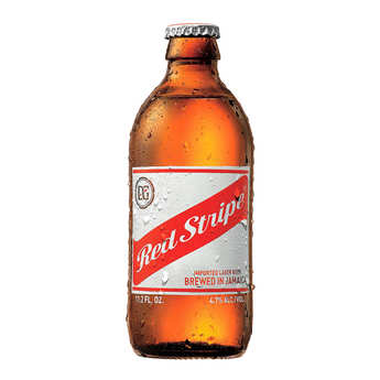 Desnoes and Geddes - Red Stripe - Bière blonde de Jamaïque 4.7%