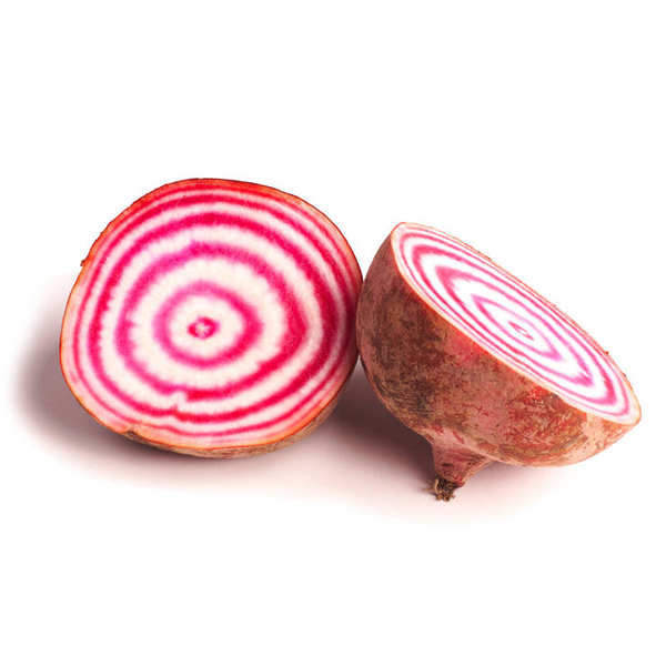 Organic 'Chioggia' Beetroot From France