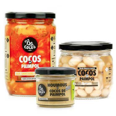 Assortiment découverte des cocos de Paimpol