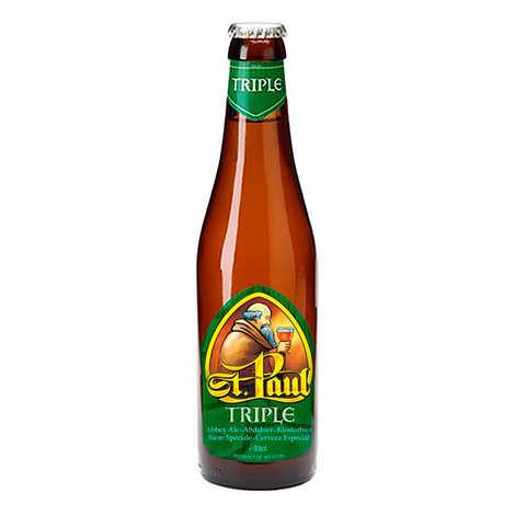 Brouwerij Sterkens - St Paul Triple - Bière Belge blonde 7.6%