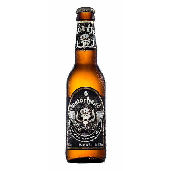 Motorhead Bastards Lager - Bière blonde 4.7%