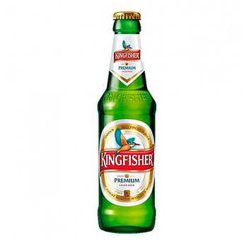 Kingfisher Beer - Kingfisher Premium - bière blonde d'Inde - 4.8%