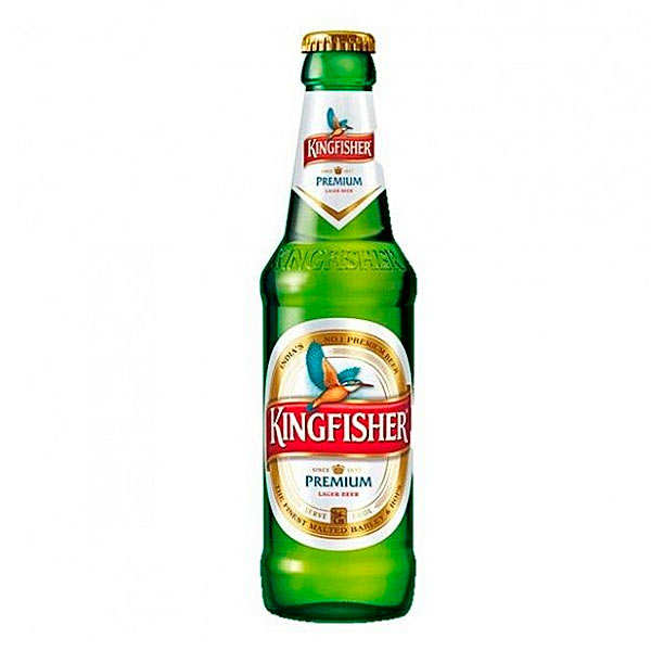 Kingfisher Premium - beer from India 4.8%