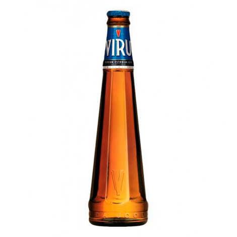 Kingfisher Beer - Viru Premium - bière blonde d'Estonie - 5%