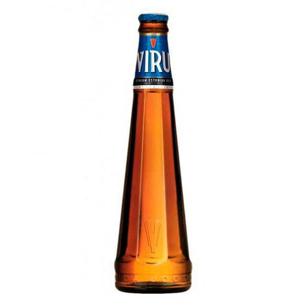 Viru Premium - bière blonde d'Estonie - 5%