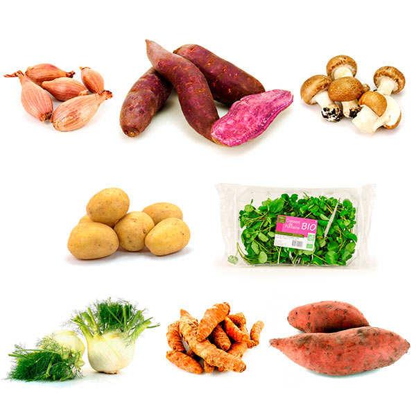 Mes légumes bio de saison