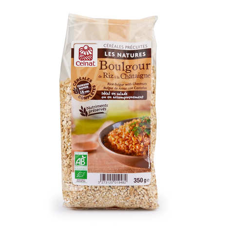 Celnat - Organic Rice Bulgur with Chestnut