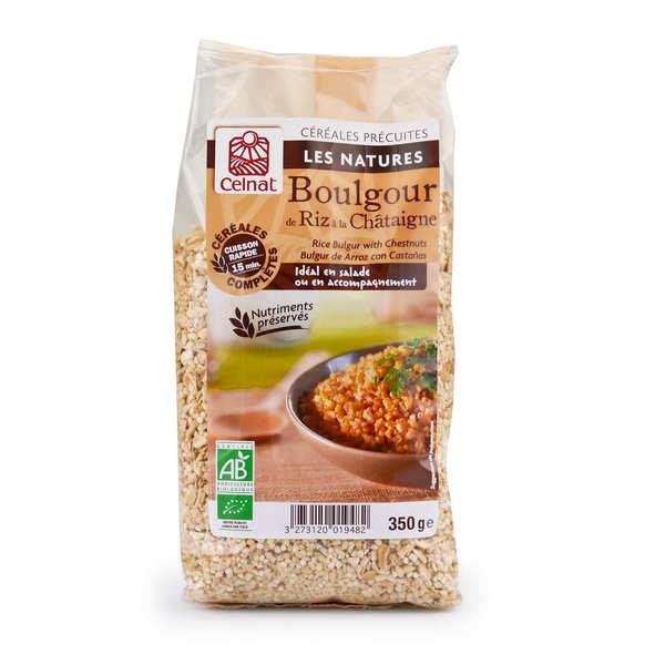 Organic Rice Bulgur with Chestnut