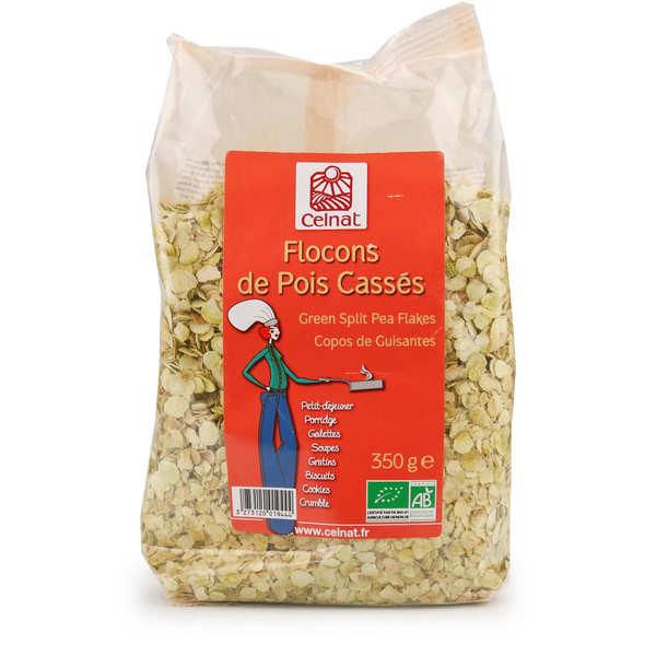 Organic Split Peas Flakes