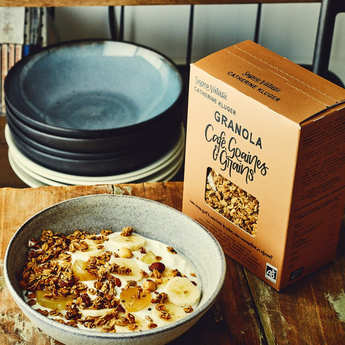 Granola Catherine Kluger - Organic Coffee and Seed Granola